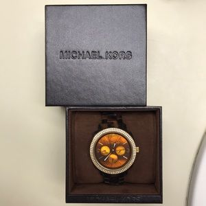 Michael Kors Turtoise Watch